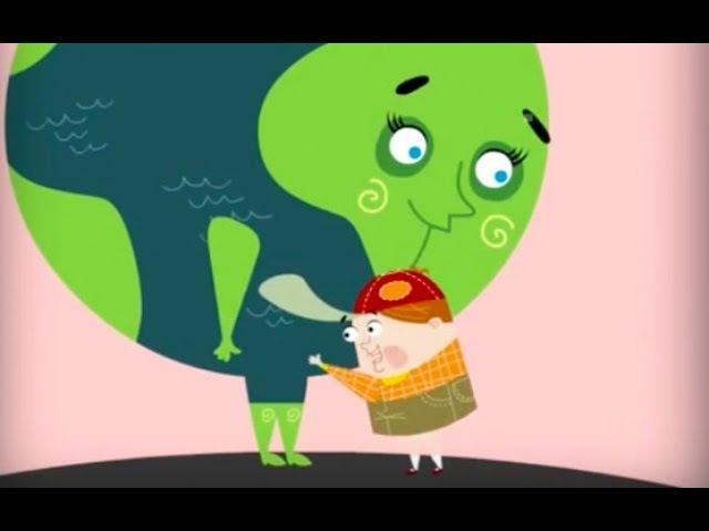 Экологический мультфильм для детей Мальчик и Земля