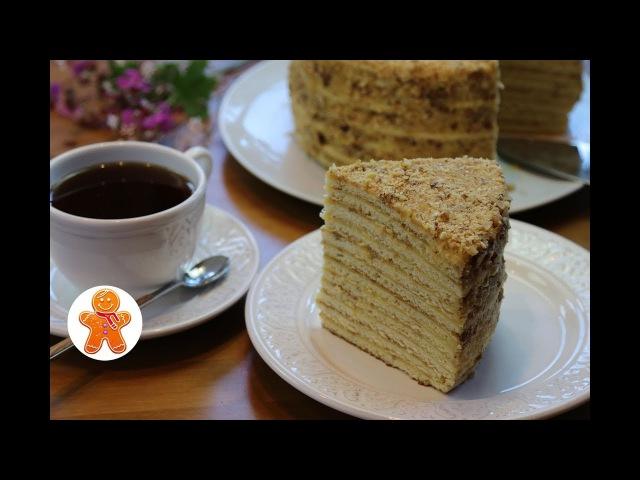 Торт на Сковороде Быстро и Просто ✧ Торт Минутка или Дачный