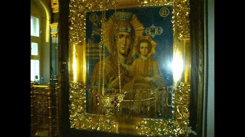 Чудотворная икона Божией Матери Акафистная-Зографская (Предвозвестительница)