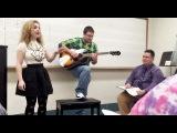 Professor starts singing