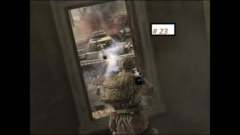 Прохождение Company of Heroes (Операция Огород) 23 *Возвращение в Фалькенсвард* (16).