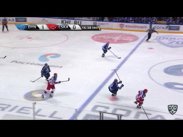 КХЛ (Континентальная хоккейная лига) - Моменты из матчей КХЛ сезона 16/17 - Удаление. Егор Зайцев (Д
