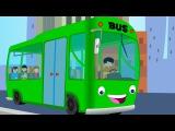Canzoni per bambini e bimbi piccoli - Wheels on the Bus compilation - Italian Baby music songs