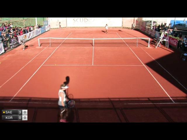 ITF 10k Nules 2016 Final Korashvili v Saez Larra