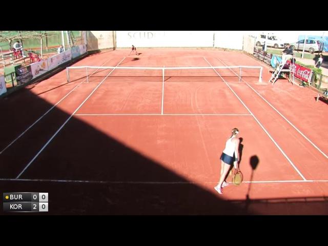 ITF 10k Nules 2016 QF Korashvili v Burillo Escorihuela