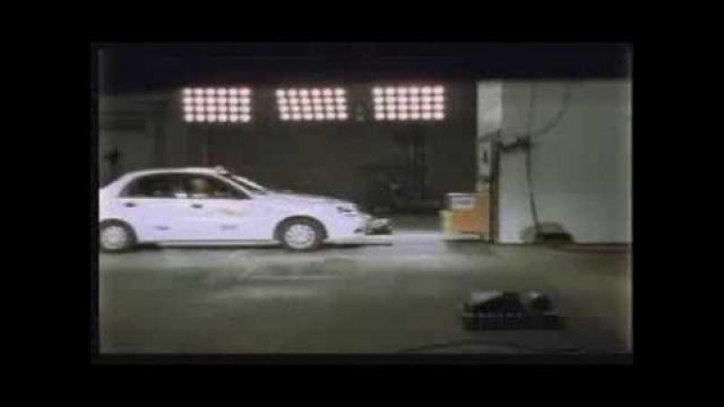 Краш-тест Daewoo Lanos (EuroNCAP)