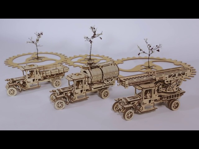 Set of Additions for Truck UGM-11 (Fire Ladder, Tanker and Chassis)