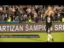 Uživo sa terena Slavlje igrača i navijača Partizana nakon osvojene 27 šampionske titule