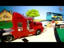 Мультик про машинки. Трактор, автобус и тягач. МанкиМульт