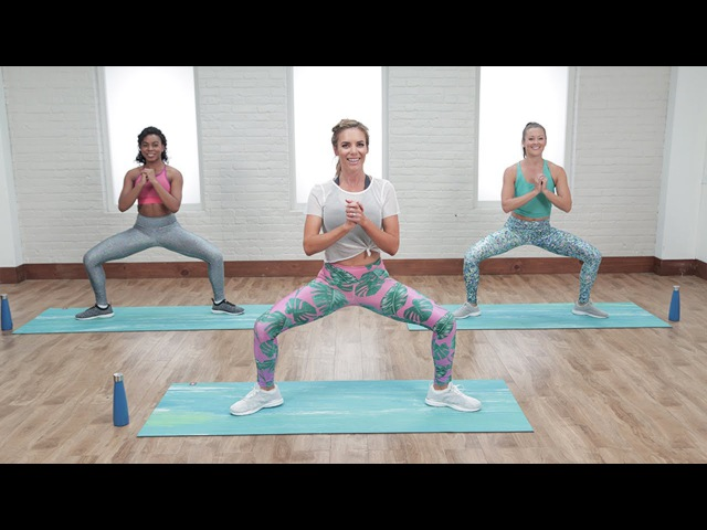 30-Minute Abs Booty-Toning Workout | Class FitSugar