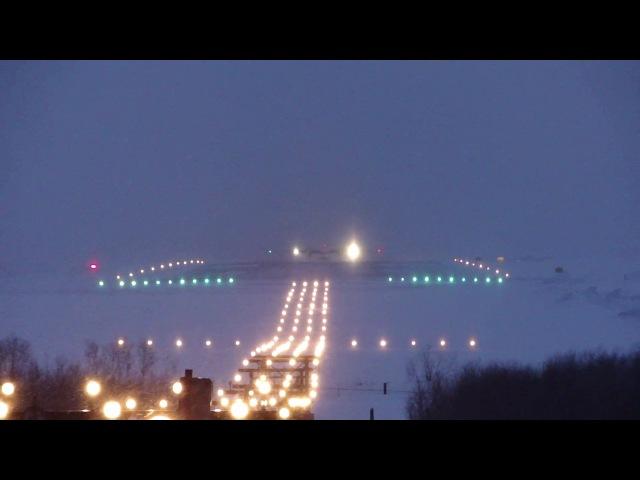 Ан-24РВ Турухана садится в Томске