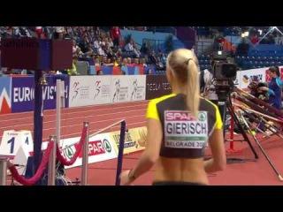 Belgrade 2017 Kristin GIERISCH 14 37 WL Triple Jump European Athletics Indoor Championships