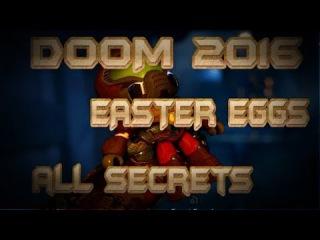 [DOOM 2016] - ВСЕ Пасхалки, Секреты, Фишки (All Secrets, Easter Eggs, Bugs)