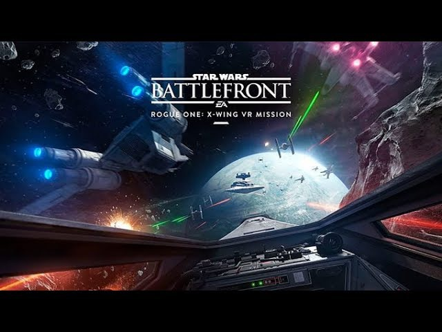 Star Wars Battlefront ROGUE ONE X-Wing VR Mission Gameplay - Saving K2S0!