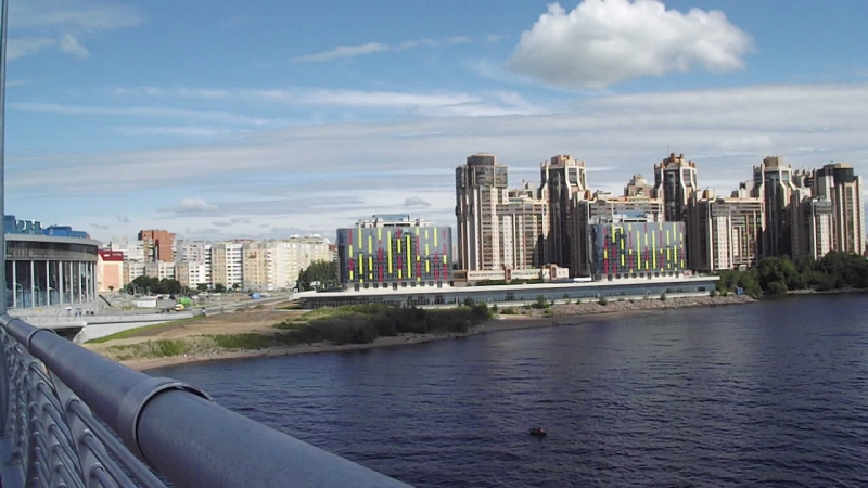Новый мост на Зенит арену