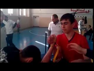 Армрестлинг (Армспорт ) КЧР 2017