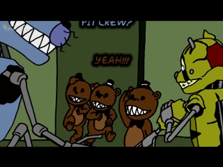 СПРИНГТРАП ИГРАЕТ в ПОКЕР _ FNAF 3 комикс #42