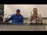 Динамо-Москва - СКА-Нефтяник 5:13 (9.02.2017). Пресс-конференция