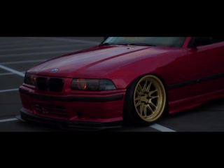 Bmw e36 - candy apple red