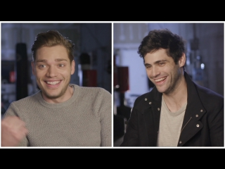 Parabatai Outtakes with  Matthew Daddario and  Dom Sherwood
