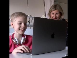 Эрик Абидаль, с помощью робота, сумел исполнить мечту смертельно больных детей