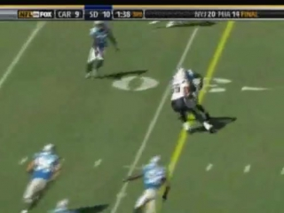 Panthers Chargers 2008 Highlights