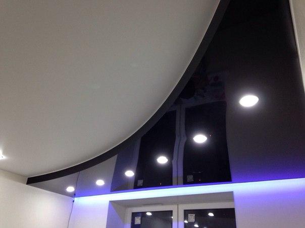 Натяжные потолки с подсветкой по Санкт-Петербургу и Ленинградской области