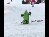 Skiing While Drunk