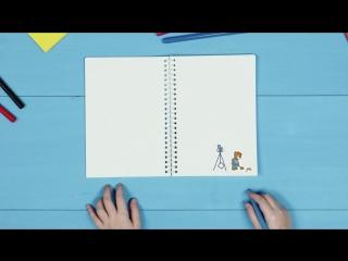 Создайте мультфильм своими руками по инструкции от Барни