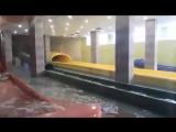 Тестирование горок в Аквапарке Лимпопо. Красная