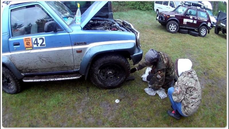 Дрыгва 2017 7-9 Мая Daihatsu Feroza