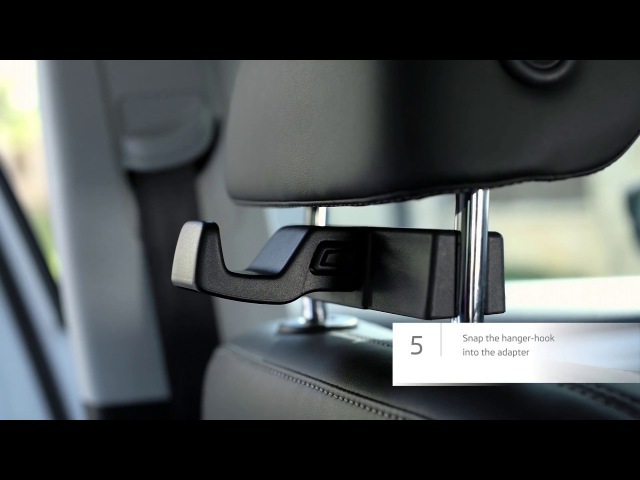 Montage video for ŠKODA Genuine Accessories smart holders