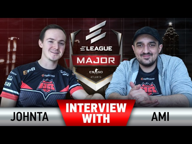 Interview with Johnta Ami at ELEAGUE Major 2017 [EN Subs]