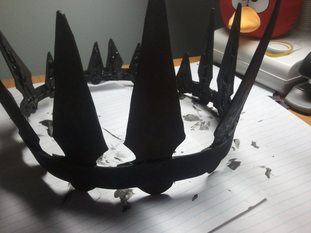 Tutorial - How to make the Chariot Crown from Black Rock shooter!