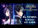 Accel World VS. Sword Art Online on NVIDIA GeForce GT 540M