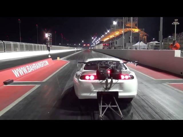Toyota Supra drag racing тойота супра драг рейсинг рекорд 5 97