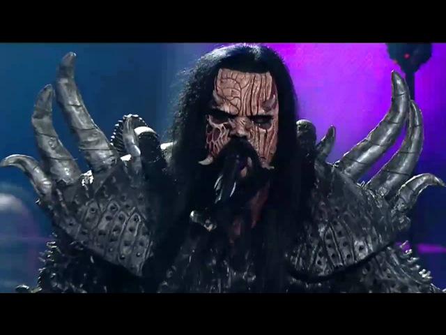 Lordi - Live at UMK 2016 ( Hard Rock Hallelujah w/medley)