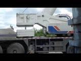 Кран Zoomlion QY80V вешает противовес 8,5 тонн