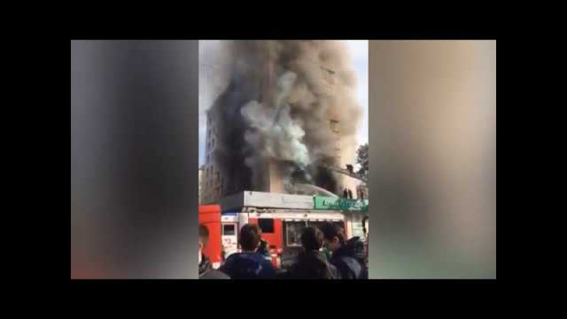 Взрыв и пожар в московской многоэтажке: больше десятка пострадавших