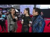 Nina Dobrev Red Carpet Interview - AMAs 2016