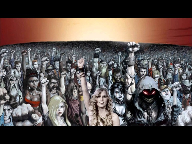 Disturbed vs Taylor Swift (ft. KoRn) - Down With The Blank Space