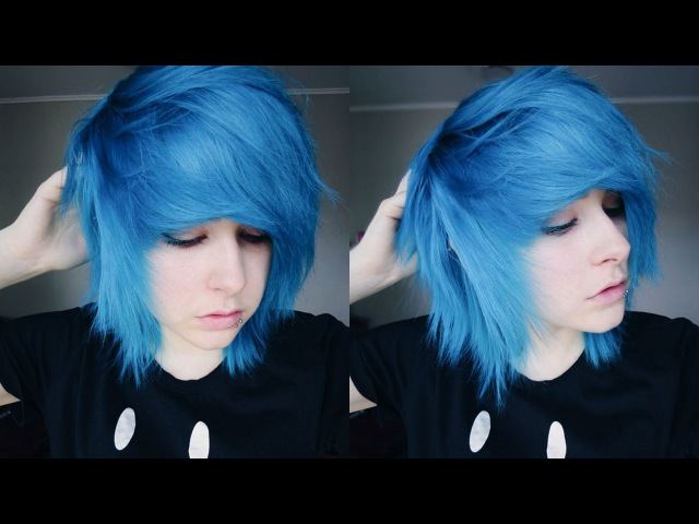 How to Style Short Scene/Emo Hair