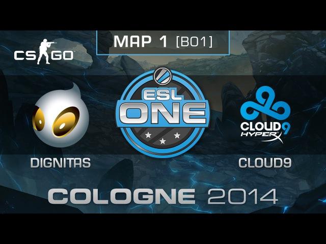 Dignitas vs. Cloud9 - ESL One Cologne 2014 - Group D - CS:GO