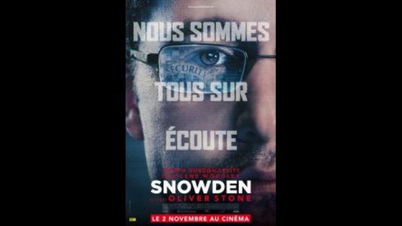 Snowden (2016) Thriller HD Français