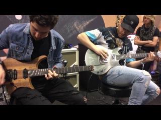 Intervals x Plini performing ''Cascade'' at NAMM 2017