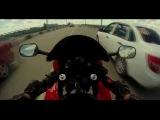 F3 Rider HONDA CBR 600  Тошниловка по городу и ветерок на трассе