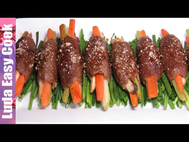 ВКУСНЫЕ КОТЛЕТЫ рецепт котлет по-корейски - Tasty Cutlet Recipe - chiên thịt cốt lết HÀN QUỐC