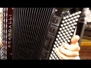 How to Play a 120 Bass Accordion - Lesson 4 - Dominant 9th Chord - After You've Gone