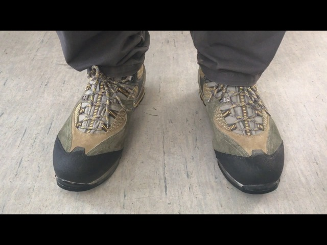 Отзыв на ботинки трекинговые Lomer Trail