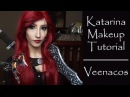 Katarina Makeup Tutorial League of Legends Cosplay Veenacos